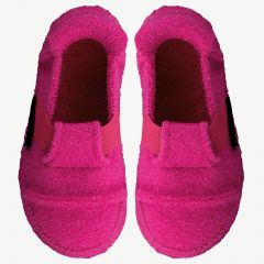 "Raspberry Pink ""Berg"" Slippers"