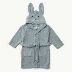 Lily Bademantel Hase in Sea Blue