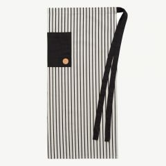 Cibo Chef Apron in White & Black