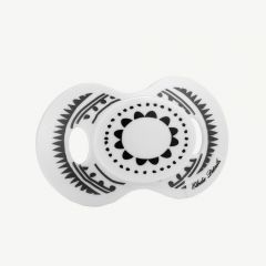 """Black and White """"Graphic Devotion"""" Pacifier"""