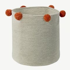 Basket Bubbly in Natural&Terracota