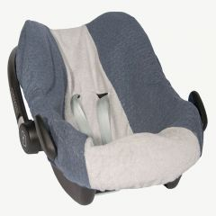Car Seat Cover in Midnight Blue