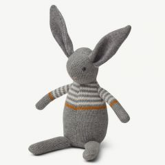 """Vigga"" Mini Strick-Hase in Grau"