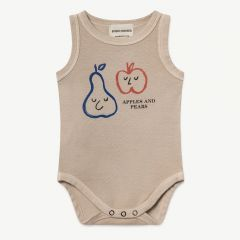Apples And Pears Tank Body in Feather Gray