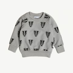 Boris the Badger Sweatshirt in Grau