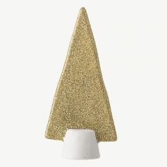 Porcelain Tree in Gold