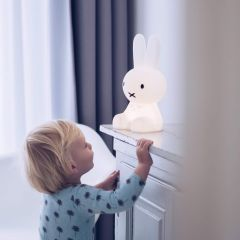 Miffy First Light LED Lamp in White