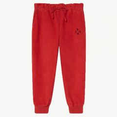 Cordhose in Rot