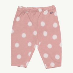 Spray Dots Baby Leggings aus Bio-Baumwolle in Rosa