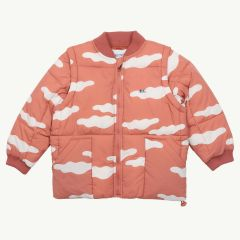 Clouds 2in1 Wattierte Jacke in Rot
