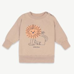 Pet A Lion Sweatshirt aus Bio-Baumwolle in Beige