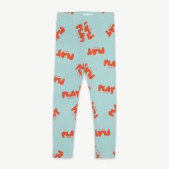 Play Leggings aus Bio-Baumwolle in Mint