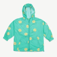 Pet A Lion Regenjacke aus recyceltem Material in Mint