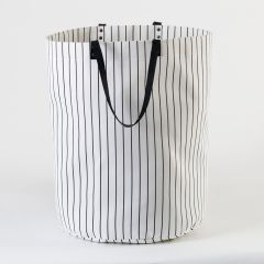 Maxi Bag with Vertical Stripes