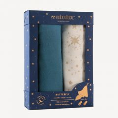 Butterfly Swaddles Box (Pack of 2)