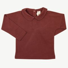 Collar T-Shirt Burgundy