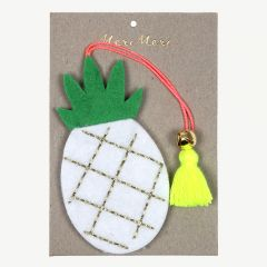Multicolour Felt Pineapple Decoration