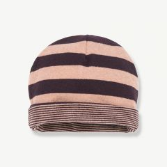 """Linz"" Beanie in Rose/ Burgundy"