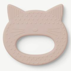 Gemma Teether Cat in Rose