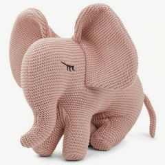 """Dextor"" Strick-Elefant in Rosa"