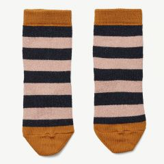 Silas Lurex Socks in Navy