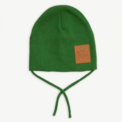 """Panda"" Hat in Green"