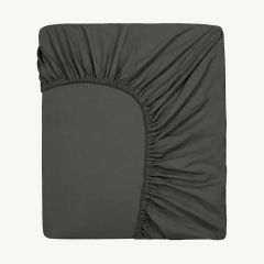 Fitted Sheet in Nearly Black