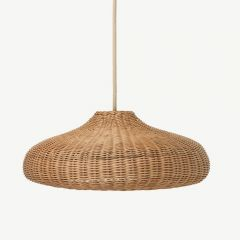 Braided Lampshade in Natural
