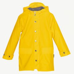 Lazy Geese Raincoat in Spectra Yellow