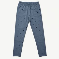 Marie Leggings Classic Dot in Blue