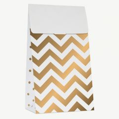 WHITE GOLD TREAT BAGS