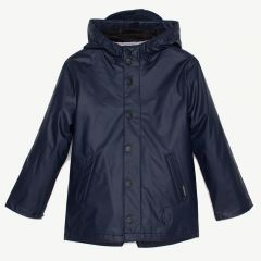 Elephant Man Raincoat in Mood Indigo