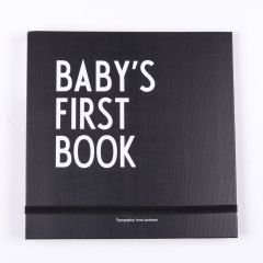 Baby's First Book Babytagebuch in Schwarz
