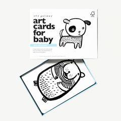 """""""Pets"""" Black and White Art Cards with Pet Motifs"""