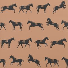 Horse Wallpaper in Brown