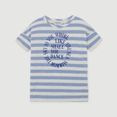 Shall You Dance Kids Gestreiftes T-Shirt in Blau