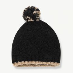 """Lausanne"" Beanie in Black"