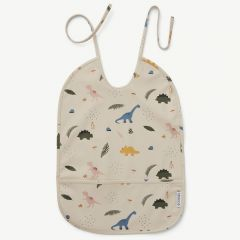 Lai Bib with Dino Mix Print