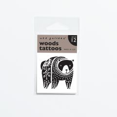 """Woods"" Tattoos mit Wald-Tiermotiven"