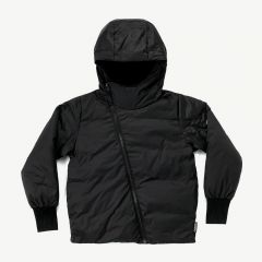 Airy Down Jacket in Black
