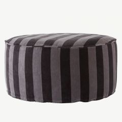 """Confect"" Pouf in Gray"