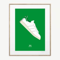 LE DUO 70 TENNIS Poster in Green