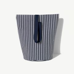 Chambray Basket in Striped Pattern