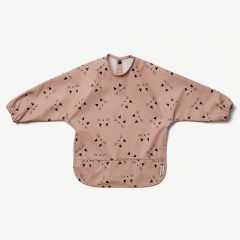 Merle Cape Bib in Pink