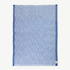 Enfold Wool Blanket x Red Cross in Blue
