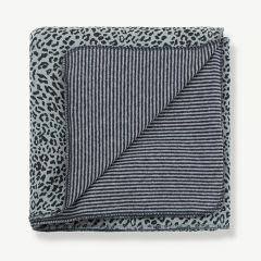 Laia Blanket in Light/ Dark Blue