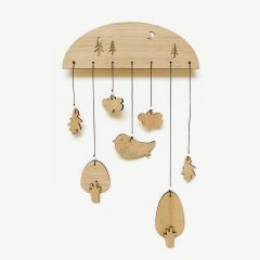 Wallmobiles Wood - Forrest