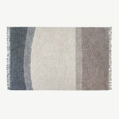 Into the Blue wool rug