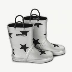 Star Rainboots in Silver