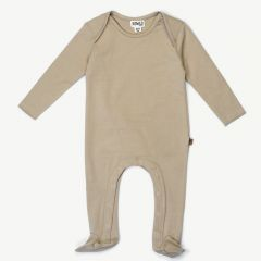 Footed Jumpsuit in Dune
